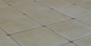 Serenissima OCTOGONE BLASONE 42.5*42.5 cm/18*18in CABOCHON RED MARBLE porcelain stoneware