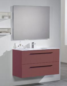 Meuble O'Design ALINA 900/1100/1200/1400 avec le miroir ronde