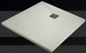 PLATEAU DE DOUCHE PRAGA SOLID SURFACE 100*100*4 cm