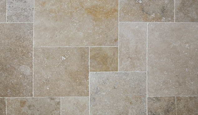 travertin classic mix tumbled 40 6x61x12cm kale fran ais