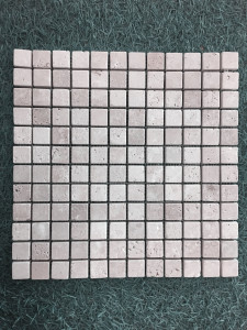 TRAVERTIN MOSAÏQUE CLASSIC MIX 2,3X2,3 CM