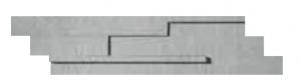CERCOM Mosaico 3D DUST 15x60cm/6x24in