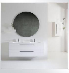 Meuble O'Design ALINA 900/1100/1200/1400 avec le miroir carre