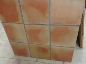 Terres cuites 30x30x2 cm